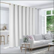 Deconovo Room Divider Curtain Thermal Insulated Blackout Patio Door Curtain Pane