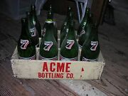 Acme Bottling Co. Wood Divided Soda Crate Only