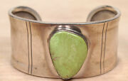 Sun West Silver Co. Sterling Silver And Turquoise Cuff Bracelet X431a