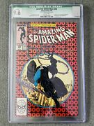 Amazing Spider-man 300 Ccg 9.6 Signed By Todd Mcfarlane Green Label
