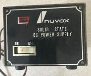 Nuvox Solid State Dc Power Supply 24 Watts Output