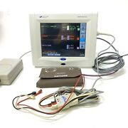Spacelabs Ultraview Sl 91367 Patient Monitor W/ 3 Lead Ecg Nibp Cable And Module