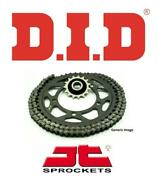 Honda Ctx700n Dct 14-18 Did Vx3 Steel X-ring Chain And Jt Rb Sprocket Kit