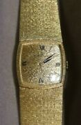 Vintage 14kt Yellow Gold Baume And Mercier E Ladies Watch