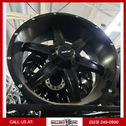 20x9 Mkw Offroad Wheel And Tire Package 6x135 Matte Black