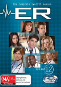 Er The Complete Season 12 Very Good Condition Dvd Region 4 Rare Oop T132
