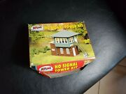 Vintage Ho Scale Atlas Signal Tower Building Kit In Box 704
