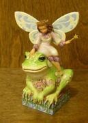 Jim Shore Heartwood Creek 4014980 Fairy Princess Have You Kissed A Frog Today