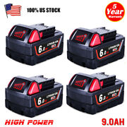 20x For Milwaukee M18 Lithium Ion Xc 6.0 Ah Extended Capacity Battery 48-11-1860