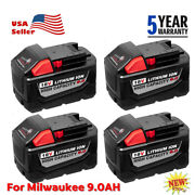 20x For Milwaukee M18 Lithium Xc 6.0 Ah Extend Capacity Battery Pack 48-11-1852