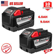 20x For Milwaukee M18 18v Lithium Xc 9.0ah Extended Capacity Battery 48-11-1890
