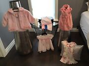 Children's Clothing Lot Girls Designer Tommy And Mex 18/24 Months Size Pinks