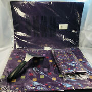 Pampered Chef Tiles Table Runner 2 Placemats 2 Napkins Nip Large Serving Spatula