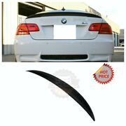 Bmw 07-13 Performance Real Carbon Fiber Trunk Spoiler For E92 Coupe Us Seller