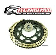 Yamaha Fz600 87-89 Renthal R4 Gold X-ring Chain And Jt Sprocket Kit