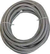 Stainless Steel Braided Hose 3/8 25 Foot