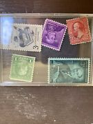 Lot Of Vintage American Stamps