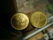 1979 And 1981 Italian L20 Coin Lot