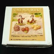Chip And Dale Disney Miniature Garden Pottery Figure Kato Kogei From Japan