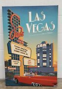 Las Vegas Sands Travel Poster Art By Steve Thomas 40 X 60 Signed 3 Of 290