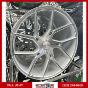 22x10.5 Gianelle Wheel And Tire Package Silver Machine 5 Lug Bolt Pattern