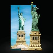Lego Architecture Statue Of The Liberty City Bus Of New York Collectable