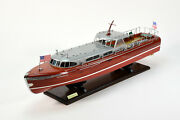 Thunderbird Lake Tahoe Yacht Handcrafted Wooden Ship Model 36