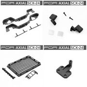 Wheeltrim+side Pedal+luggage Plate+spare Tire Holder+rear Mirror For Axialscx-24