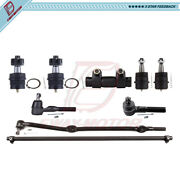 9pcs For 1991-2000 2001 Jeep Cherokee Front Ball Joints Tie Rod Ends Suspension