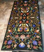 Marble Lawn Table Top Mosaic Art Patio Table Inlay Work For Home Decor Assents