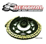 Triumph 900 Trophy 00-01 Renthal R4 Gold X-ring Chain And Jt Quiet Sprocket Kit