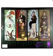 New Disney The Haunted Mansion 4 Puzzle Set Stretching Room Portrait 500pc