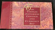 1993 Thomas Jefferson Coinage And Currency Set 2 Star Note