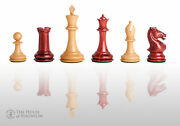 The Hastings Luxury Chess Set - Pieces Only - 4.0 King - Blood Rosewood
