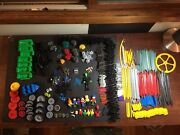 Kand039nex Giant Lot Includes 11 People And Many Wheels And Pieces Includes Nice Bin