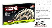 Renthal R4 Gold X-ring Chain 530x108 Links For Ducati 1200 Multistrada / S 10-17