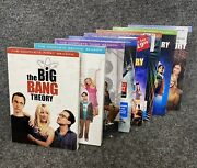 The Big Bang Theory Tv Comedy Series Seasons 1-8 On Dvd New And Sealed