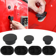 Exterior Tailgate Plugs Floor Drain Durable Rubber Plugs For Jeep Wrangler 07-17