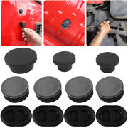 Exterior Tailgate Chassis Waterproof Rubber Stopper Plugs For Jeep Wrangler Jk