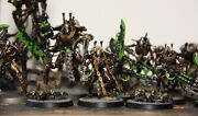 Necrons Battalion Complete Large Custom Full Army Well Painted Warhammer