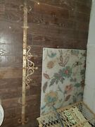 Rare Beautiful Victorian Butcher Wall Hanging Meat Rack Ornate