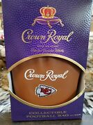 Chiefs Crown Royal Limited Edition Bag And Box Only No Bottle