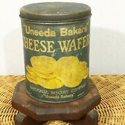 Uneeda Bakers Cheese Wafers Tin National Biscuit Company