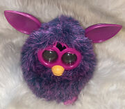 Furby 2012 Pink Purple Interactive Toy Eyes Light Up Tested Works Perfectly