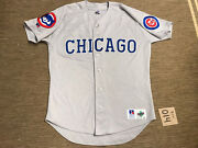 Menandrsquos Adult Russell Athletic Mlb Chicago Cubs Jersey Baseball Size 44
