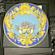 Versace La Mer Plate Limited Edition Wall Version Rosenthal New In Box Sale