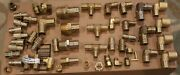 Lot Of 50 Pieces Brass Pex Fittings Uponor Wirsbo Plumbing Hvac Parts Random
