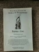 The Dark Tower Vi Song Of Susannah By Stephen King Arc Proof Advance Review
