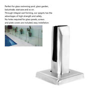 Integral Cast Forming Glass Clip For Glass Swimming Pool Glass Garden Balustrade
