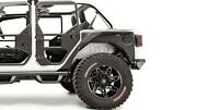 Fab Fours Rear Fender Replacement System For 18-19 Wrangler Jl Jl1001-1